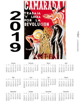2019 Spanish Civil War Wall Calendars