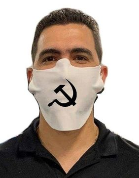 Hammer and Sickle Safety Face Mask