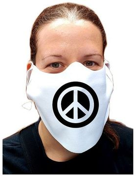 Peace Symbol Safety Face Mask
