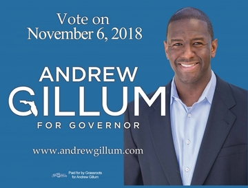 Andrew Gillum Car Magnet - Available in 2 Sizes!