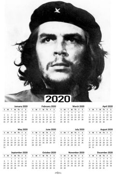 Che Guevara Photo 2020 Wall Calendars