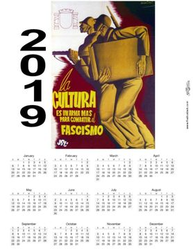 Culture 2019 Spanish Civil War Wall Calendar
