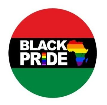 Black Pride Button