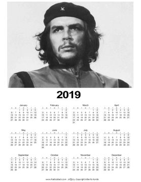 Che Guevara Photo 2019 Wall Calendars