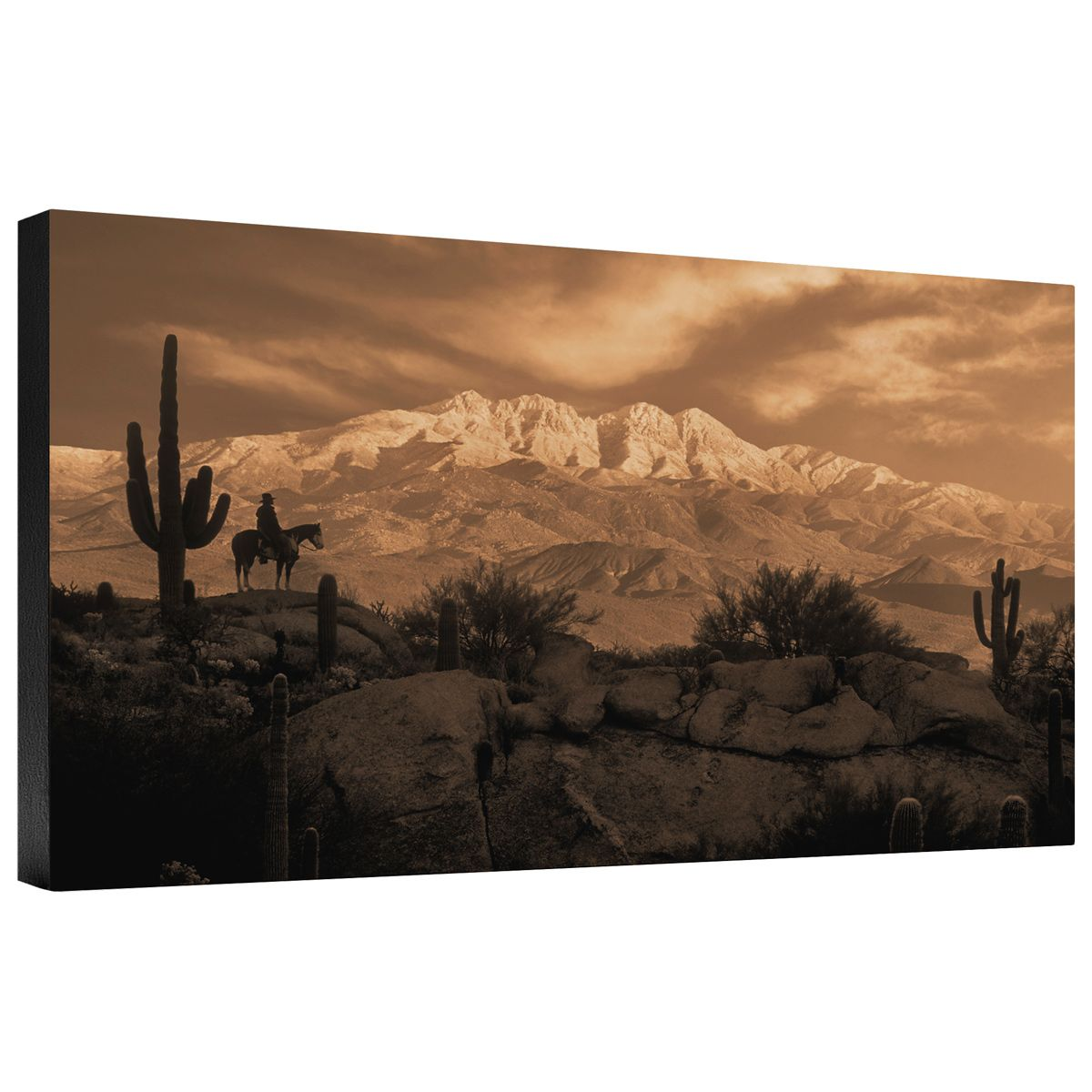 4 Peaks Gallery Wrapped Canvas
