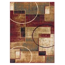 Abstract Desert Rug - 5 x 7