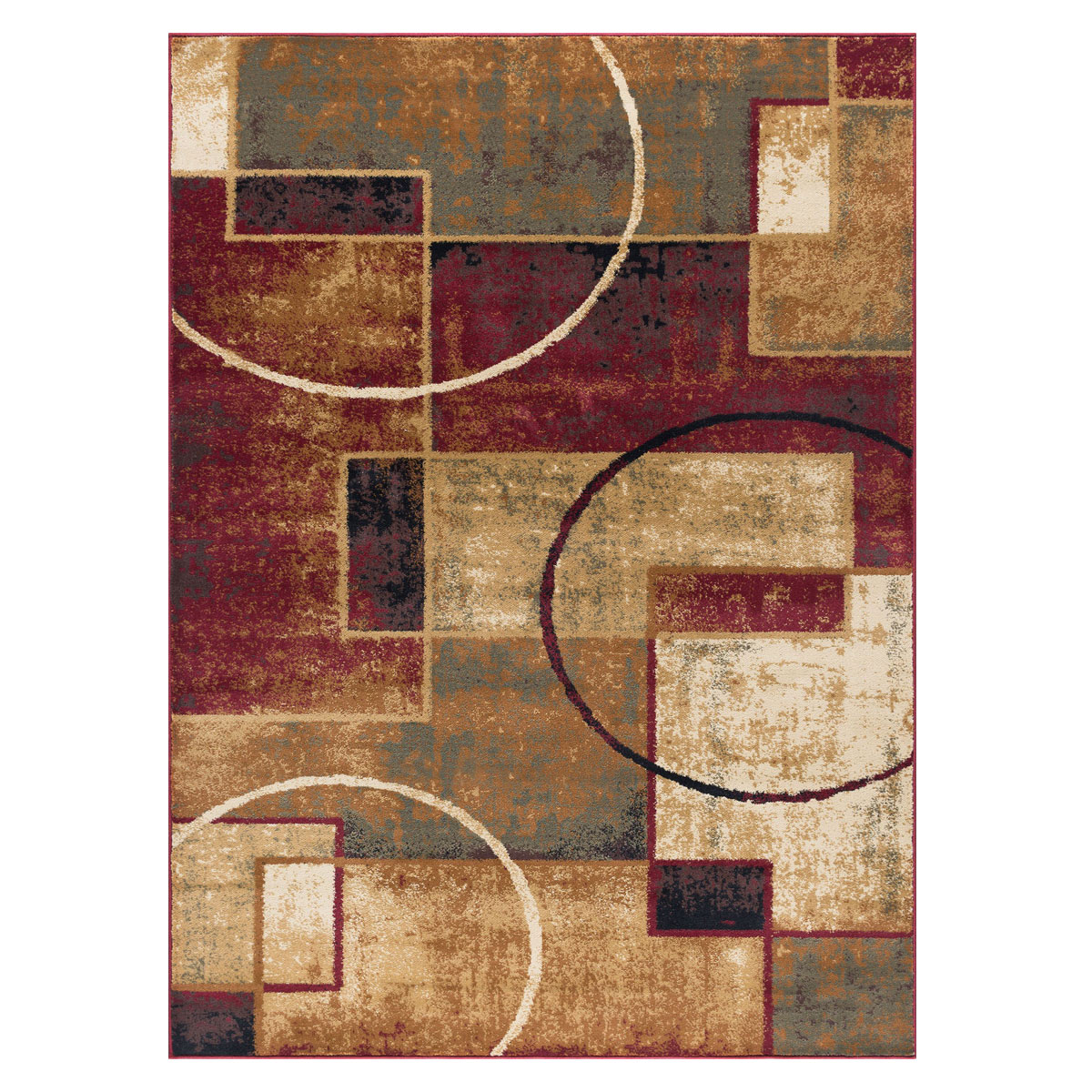 Abstract Desert Rug 8 X 10