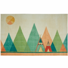 Abstract Teepee Rug Collection