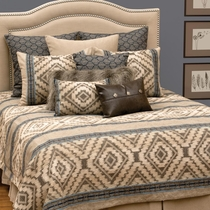Adelanto Azure Basic Bed Set - Super Queen