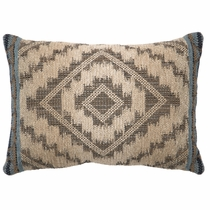 Adelanto Azure Geometric Pillow