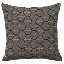 Adelanto Azure Hexagon Pillow
