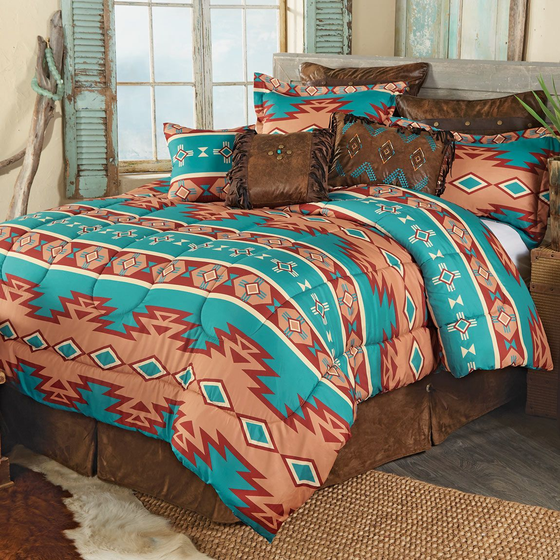 Adobe Canyon Bed Set - Queen - CLEARANCE
