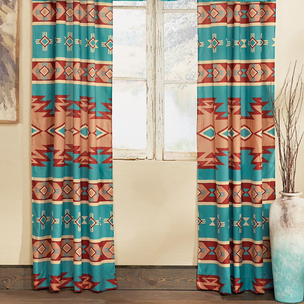 Adobe Canyon Lined Drapes - CLEARANCE