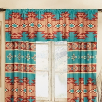 Adobe Canyon Lined Valance