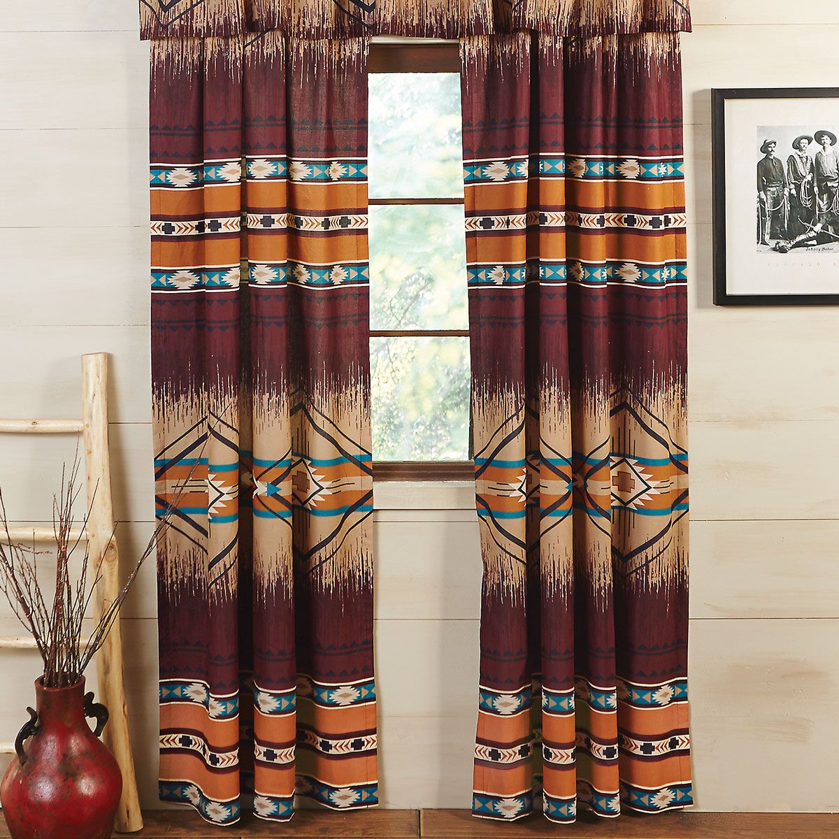 Adobe Cross Drapes