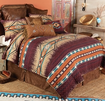 Adobe Cross Quilt Set - Queen