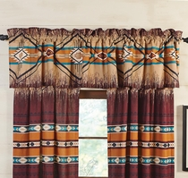 Adobe Cross Valance
