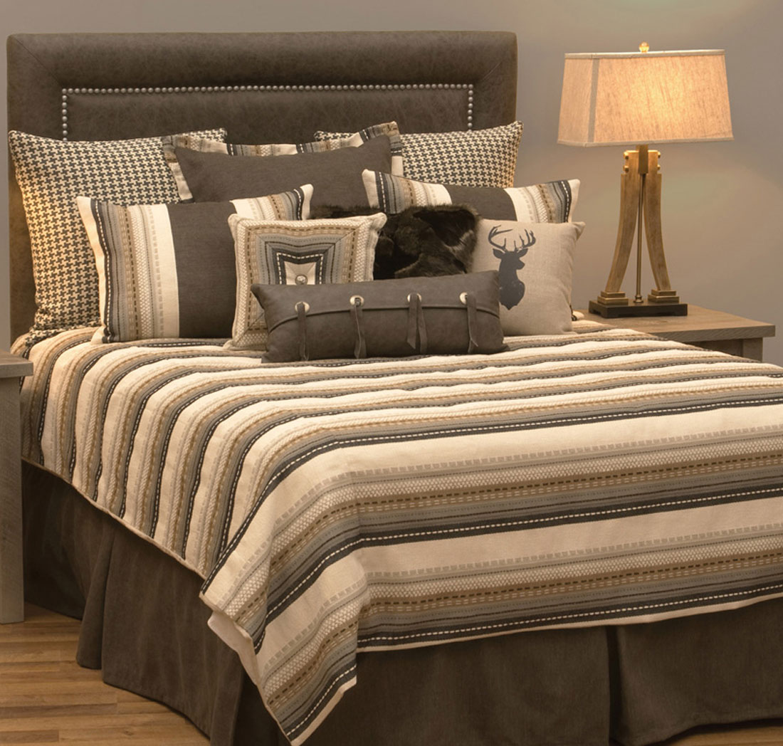 Adobe Quarry Deluxe Bed Set - Cal King