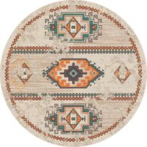 Adobe Rio Clay Rug - 8 Ft. Round