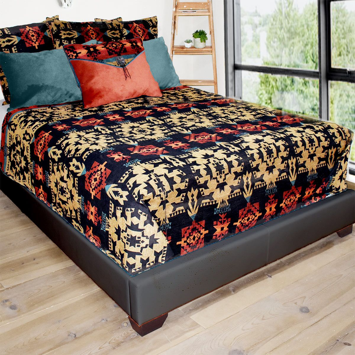Adobe Sunset Coverlet - Queen