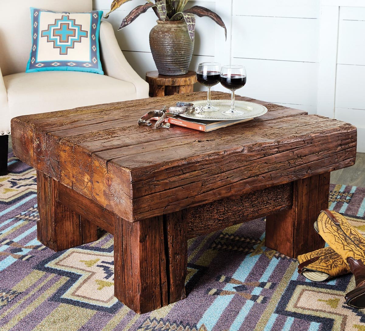 Alamosa Reclaimed Wood Coffee Table