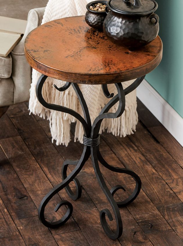 Rustic Tables Alexander Accent Table