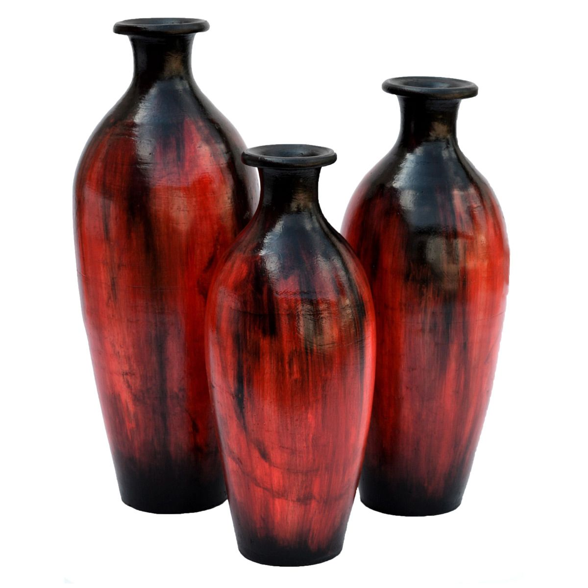 Almaden Vases - Set of 3