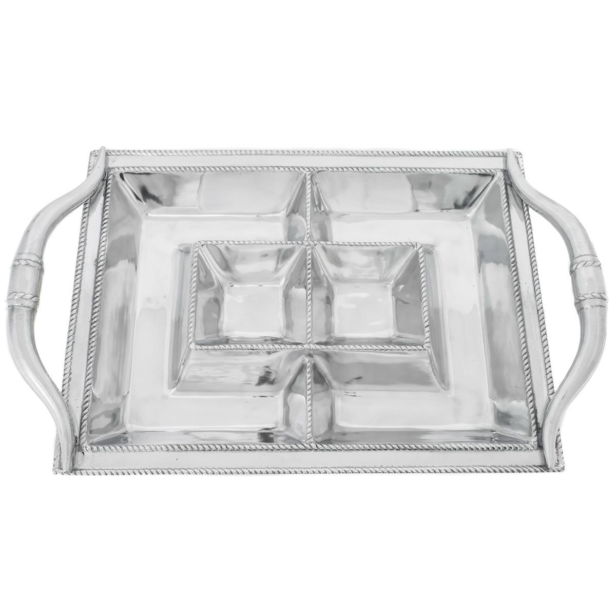 Aluminum Longhorn Entertainment Tray