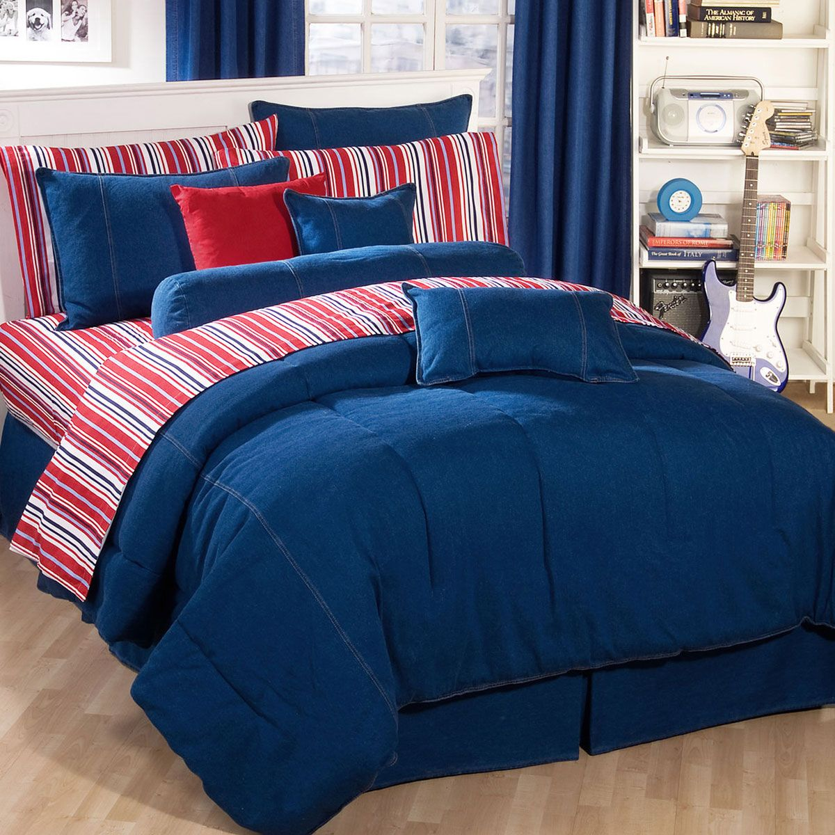 American Denim Comforter - Cal King
