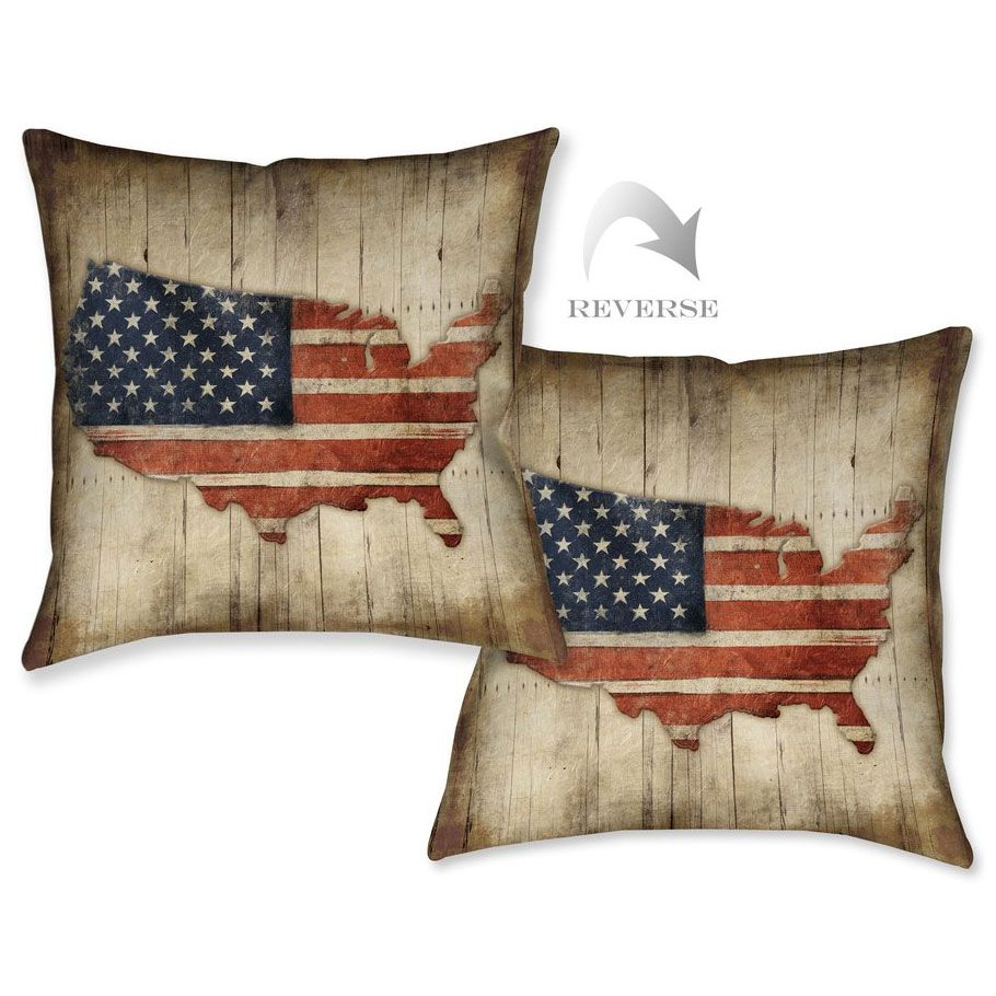 American Made Indoor/Outdoor Pillow