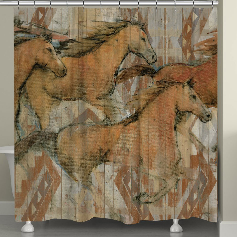 Ancient Paths Shower Curtain