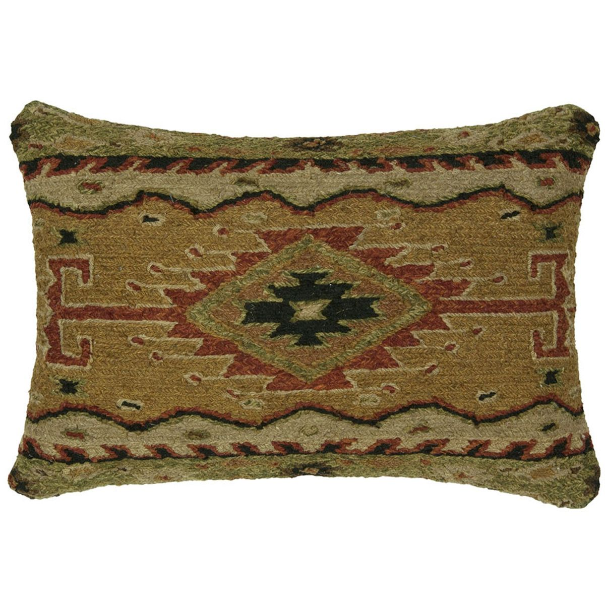 Angel Fire Sun Pillow - 22 x 14