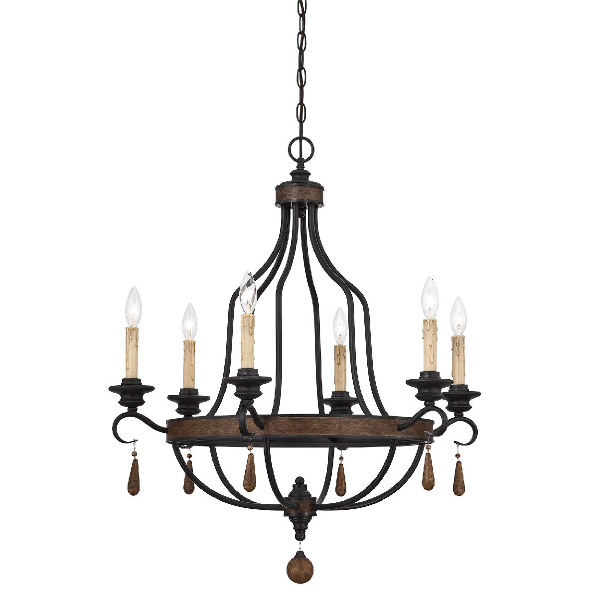 Anita 6-Light Chandelier - 32 Inch