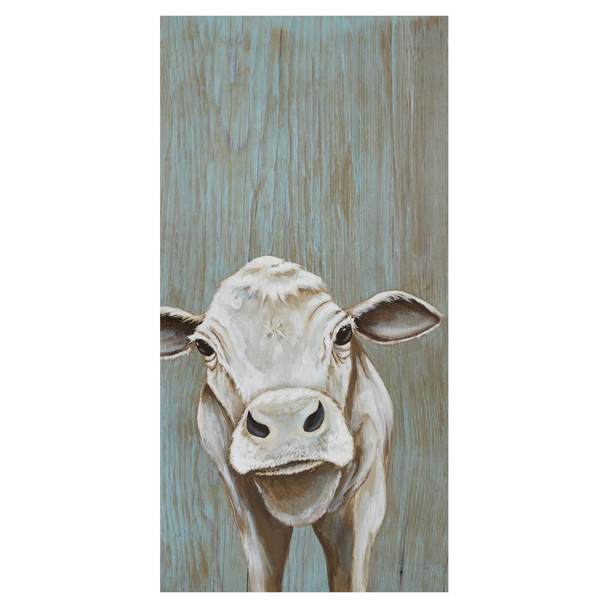 Annie the Calf Canvas Art