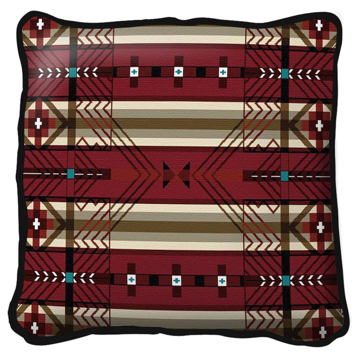Antelope Ridge Flag Pillow
