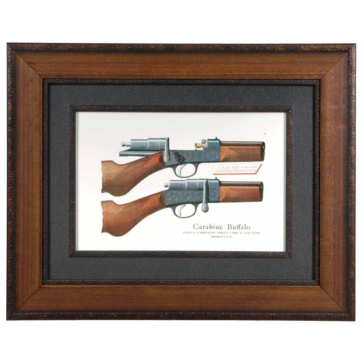 Antique Pistol I Framed Art