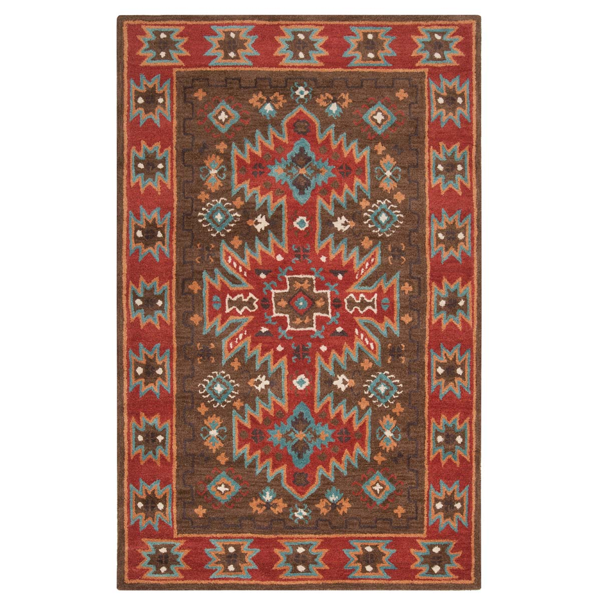 Arizona Chocolate Rug - 2 x 3