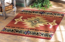 Arizona Crimson Rug - 2 x 4