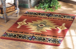 Arizona Crimson Rug Collection