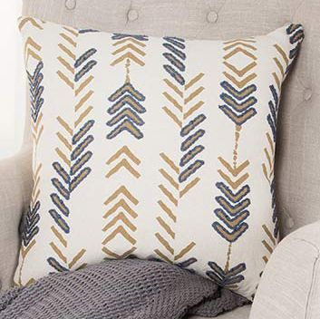 Arrow Columns Pillow
