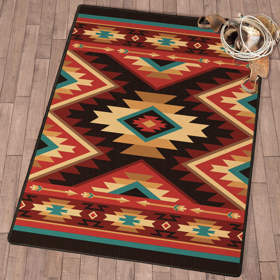 Arrowhead Pass Rug - 8 Ft. Square