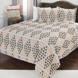 Arrowhead Point Quilt Bedding Collection