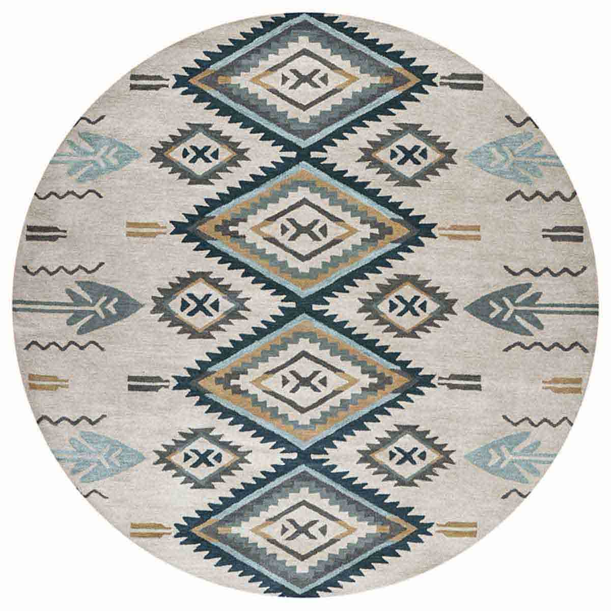 Arrowhead Rug - 8 Ft. Round