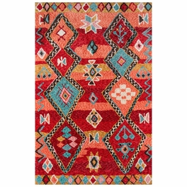 Arturo Red Rug Collection