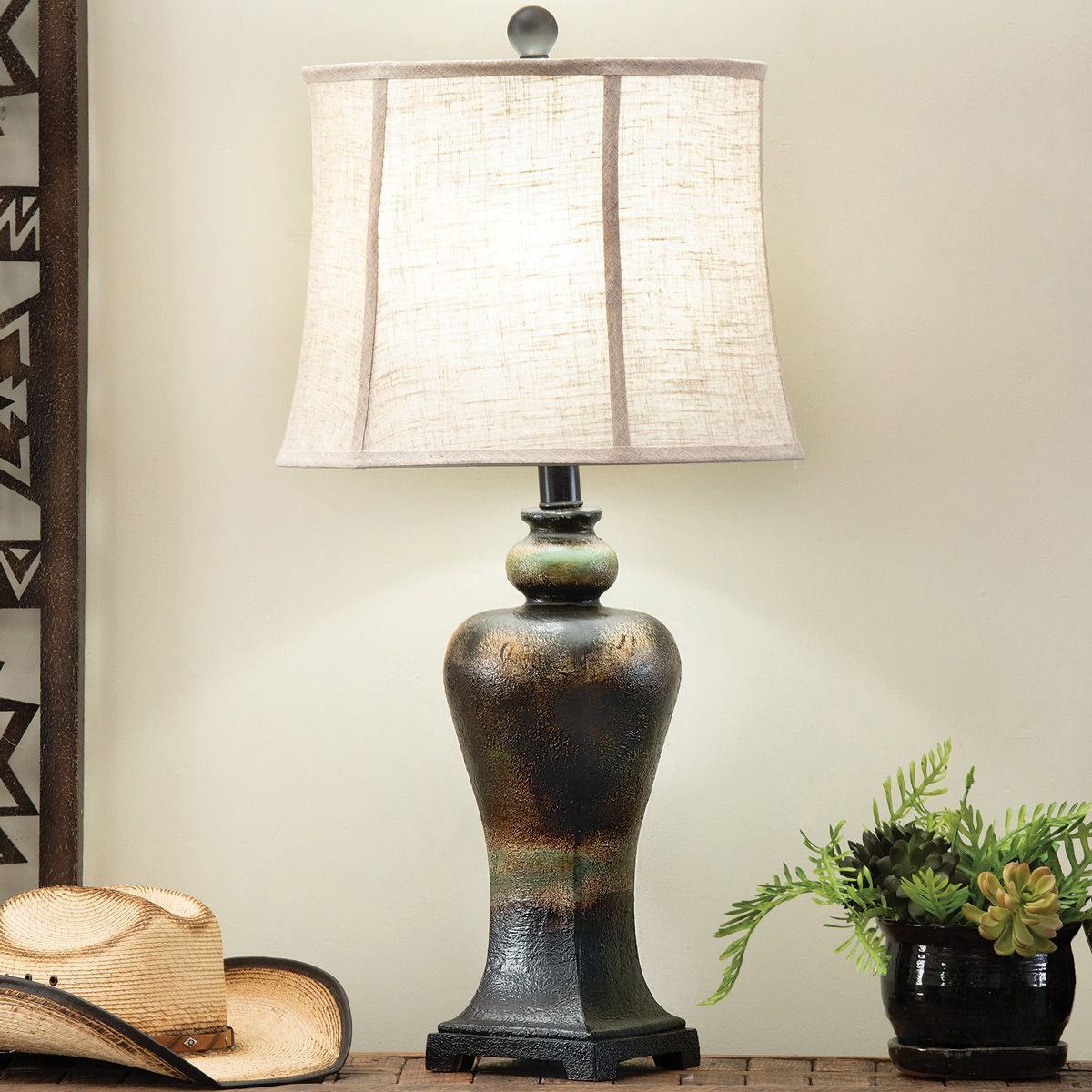 Canyon Rock Table Lamp - OVERSTOCK