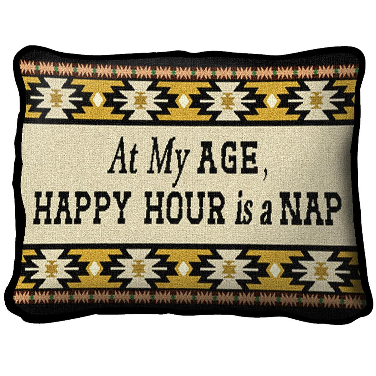 At My Age Southwest Pillow