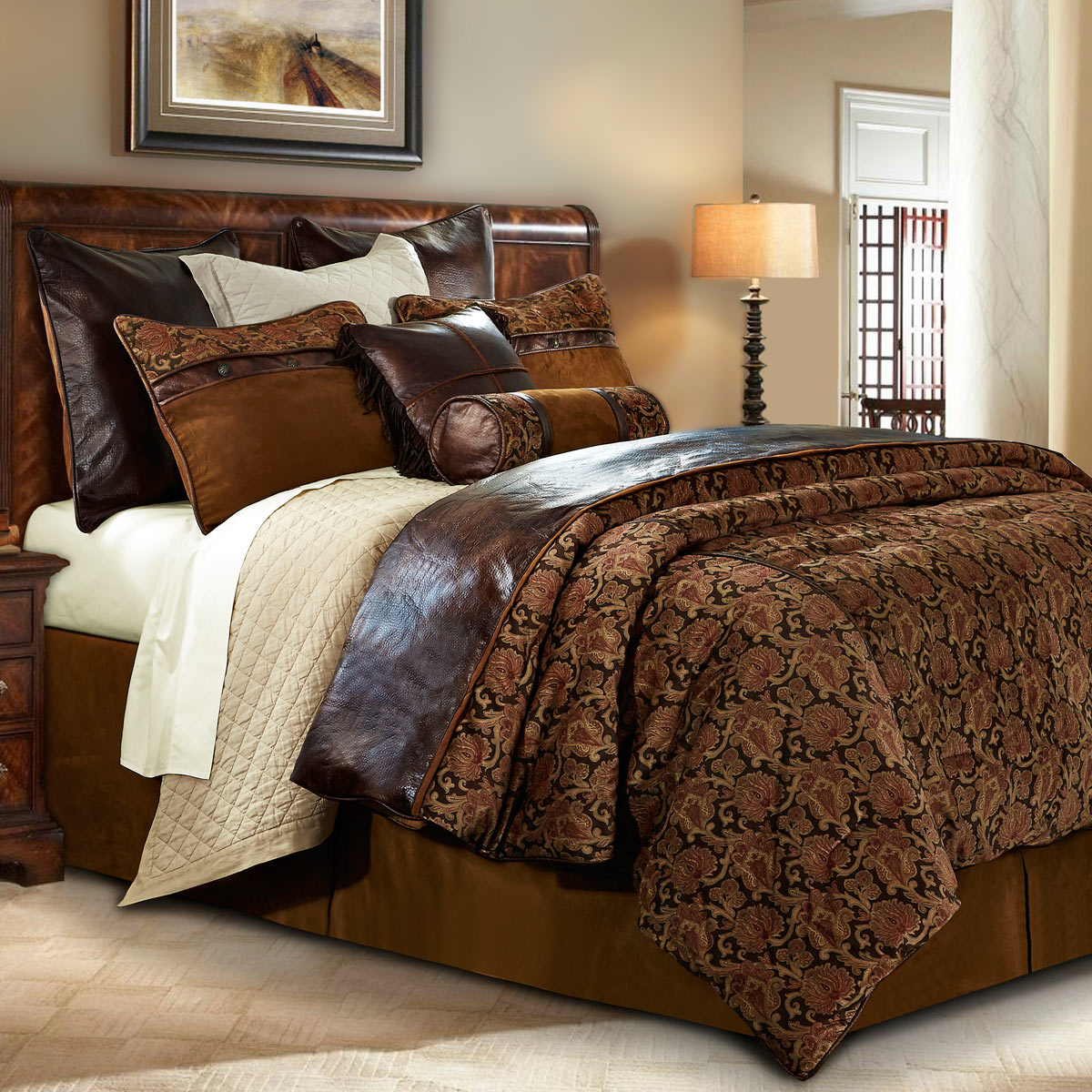 Western Bedding: King Size Austin Bed Set|Lone Star Western Decor