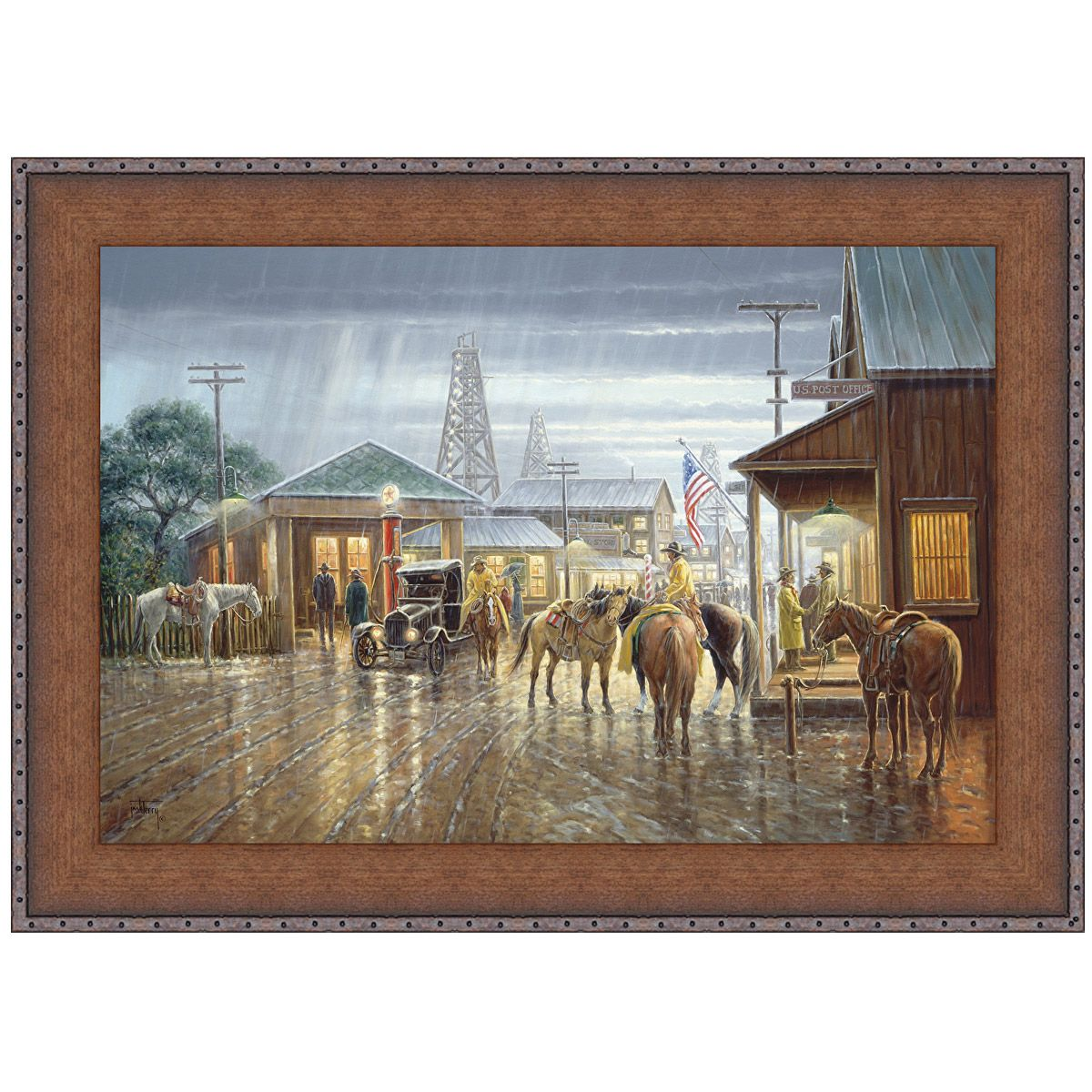 Austin Evening II Canvas Art