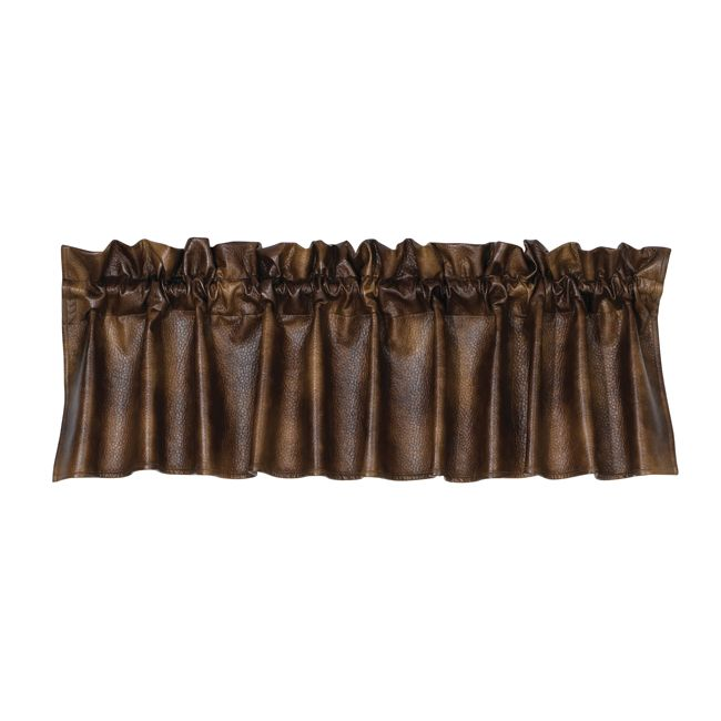 Austin Faux Leather Valance