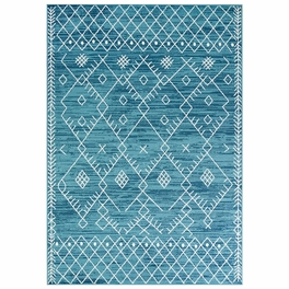 Aztec Blue Rug Collection